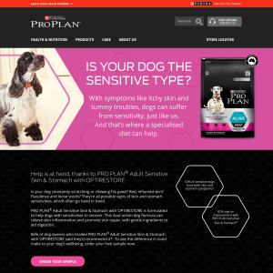Free 300g Bag of Purina Pro Plan Dog Food