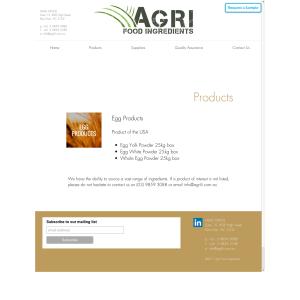 Free Agri Egg White Powder