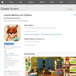Free App: Animal Memory for Children