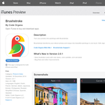 Free App: Brushstroke [iOS]