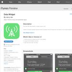 Free App: Data Widget [iOS]