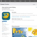 Free App: Pete and the secret of flying
