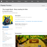 Free App: The Jungle Book - Story reading for Kids
