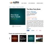 Free Audio Book: The Blue Fairy Book