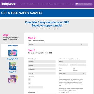 Free Babylove nappy