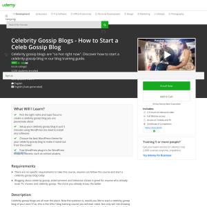 Free Celebrity Gossip Blogs - How to Start a Celeb Gossip Blog
