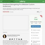 Free Course: Facebook Retargeting Pro (Website Custom Audiences)