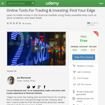 Free Course: Online Tools For Trading & Investing: Find Your Edge