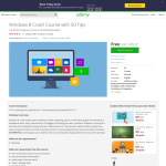 Free Course: Windows 8 Crash Course with 50 Tips