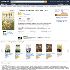 Free Daffodils (The Katherine Wheel Book 1) Kindle Edition