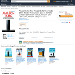 Free eBook: Amazon Echo: New Amazon Echo User Guide 2016 - Master Your Amazon Echo in No Time! (Amazon Echo Users Manual, Amazon Echo User Guide, Amazon Echo) Kindle Edition