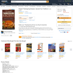 Free eBook: Elegant Thanksgiving Recipes: Upscale Your Traditions Kindle Edition
