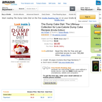 Free eBook: The Dump Cake Diet: The Ultimate Collection for Low-Calorie Dump Cake Recipes [Kindle Edition]