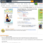 Free eBook: Yoga for Beginners - Your Essential Guide to Getting Started! [Kindle Edition]