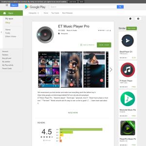 Free ET Music Player Pro