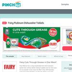 Free Fairy Platinum Dishwasher Tablets Sample
