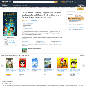 Free Fierce Winds and Fiery Dragons: free childrens books, books for kids age 9-12, bedtime stories for kids (Dusky Hollows)