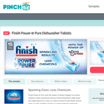 Free Finish Power & Pure Dishwasher Tablets Sample