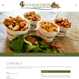 Free G I Gourmet Nuts