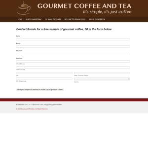 Free Gourmet Coffee