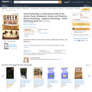 Free Greek Mythology: A Captivating Guide to the Ancient Gods, Goddesses, Heroes, and Monsters (Norse Mythology - Egyptian Mythology - Greek Mythology Book 3)