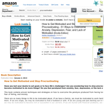 Free How to Get Motivated and Stop Procrastinating - 51 Ways to Overcome Anxiety, Depression, Fear, and Lack of Motivation [Kindle Edition]