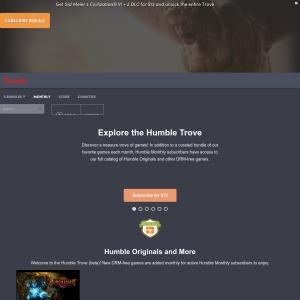 Free Humble Bundle Trove - 6 DRM-Free Games