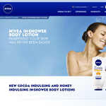 Free In-Shower Body Lotion Cocoa Sample