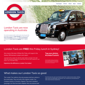 Free London Taxis