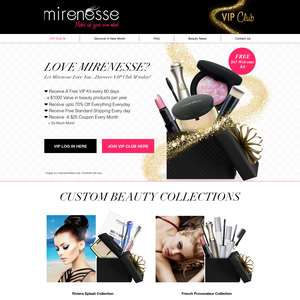 Free Mirenesse Welcome Kit