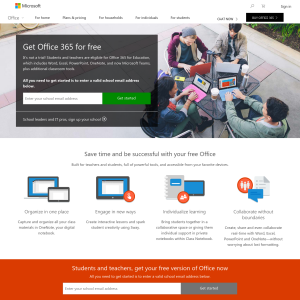 Free: Office 365 for Students and Teachers