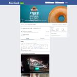 Free Original Glazed Doughnut