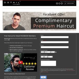 Free Premium Haircut