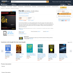 Free Pro Git 2nd Edition, Kindle Edition