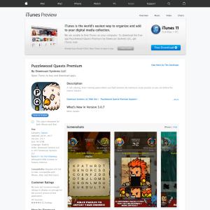 Free Puzzlewood Quests Premium