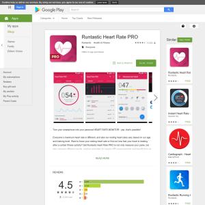 Free Runtastic Heart Rate PRO
