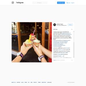 Free Scoop of Gelato Messina Ice Cream and Knafeh (Baked Goods)