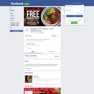 Free Signature Beef Noodle Soup