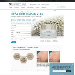 Free Skinceuticals Triple Lipid Restore