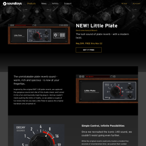 Free Soundtoys - Little Plate (VST-FX Plugin)