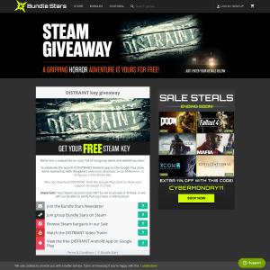 FREE Steam Key - Distraint
