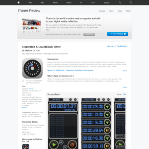 Free Stopwatch & Countdown Timer