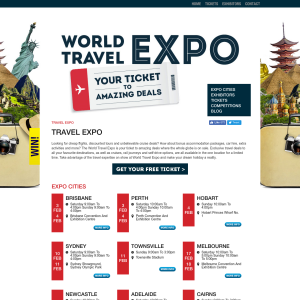 Free Ticket to The World Travel Expo