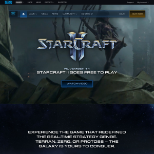 Free to Play - Starcraft II: Wings of Liberty