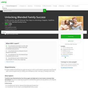 Free Unlocking Blended Family Success